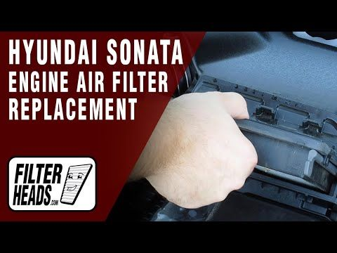 Pin On Hyundai Engine Air Filter Replacement Videos