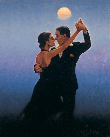 Jack Vettriano ... Dancing in black under the moonlight ... FROM: http://media-cache-ec0.pinimg.com/originals/93/77/e8/9377e8be8b4a064bd4442faf66fdd3b3.jpg