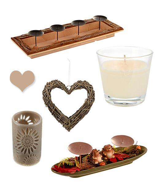 Gibt es etwas Schöneres als Kerzenschein im Herbst? Wir haben die passende Deko und eine große Auswahl von Kerze. Sowohl im Online Shop als auch in der Filiale.