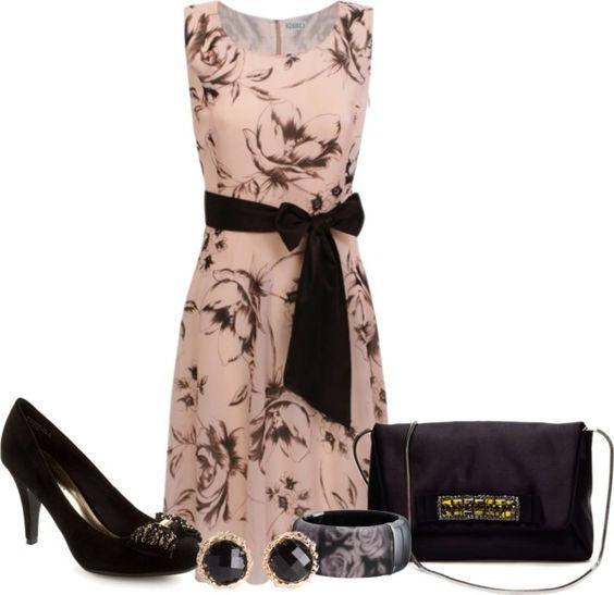 """Rose Tatoo Dress"" by karen-keathley on Polyvore"