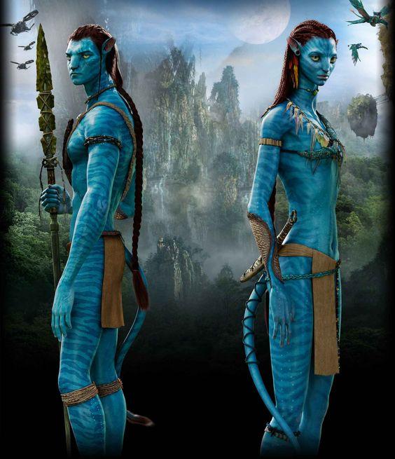 Avatar Jake Sully: Neytiri Avatar Full Body
