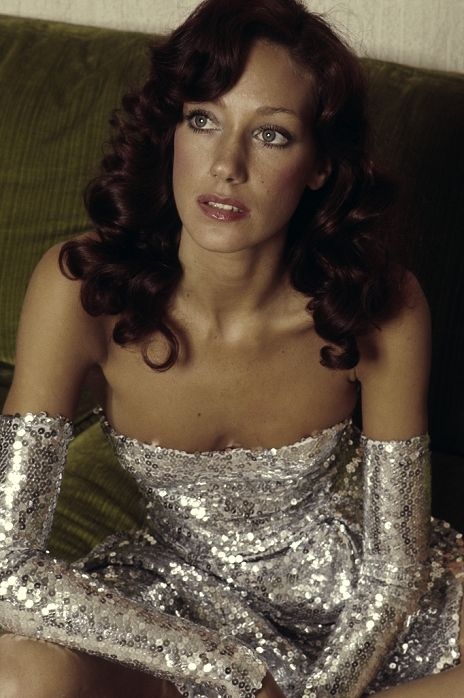 "Marisa Berenson - She was known as ""The Queen of the Scene"" for her frequent appearances at nightclubs and other social venues in her youth and Yves Saint Laurent dubbed her ""the girl of the Seventies""