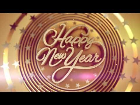 Happy New Year 2018 Wishes Video Download Whatsapp Video Song Countdown Wallpaper Ani Happy New Year Animation Happy New Year Wishes Happy New Year Greetings