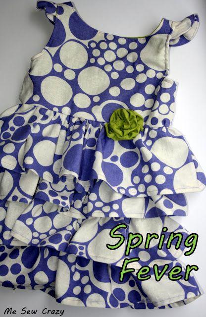 Me Sew Crazy: Spring Fever Dress...