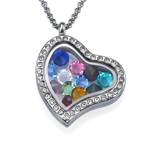 Birthstone Charms Floating Locket  a5bbdc359d475