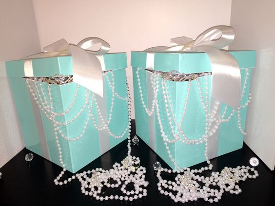 """9"""" Pouring Pearls~Perfect Centerpiece/Sweet 16/Wedding/Baby Shower/Wedding Shower/Sweet 16/1st Birtday/Home Accents by TheCraftingSisters1 on Etsy https://www.etsy.com/listing/244448485/9-pouring-pearlsperfect-centerpiecesweet"""