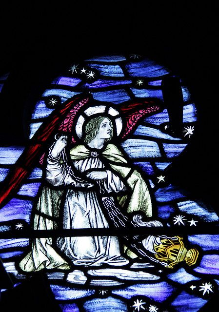 Stained glass @ Westland, London by Kotomicreations, via Flickr