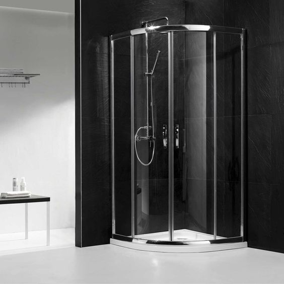 Alina Corner Shower Enclosure Showers Glass Shower