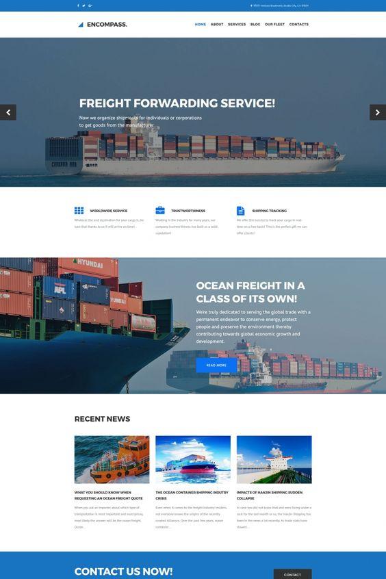 Freight Quote Com Custom تصميم حياة هوست  من أعمالنا  مواقع الشركات  Pinterest