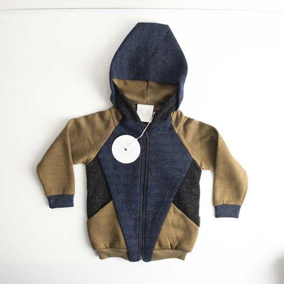 Trommpo zipped hoodie tri azul 3J