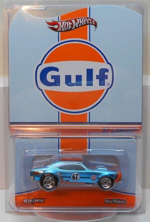 Hot Wheels RLC 2014 Gulf Racing 67 Camaro Real Riders 00002 / 04500 Sold Out! #HotWheels #ChevroletCamaro