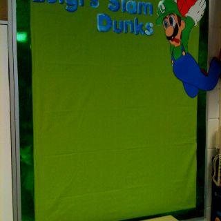 "Mario classroom theme- luigi student work ""brag board"""