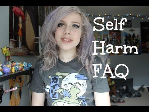 Self Harm FAQs (メ・ん・)? - YouTube