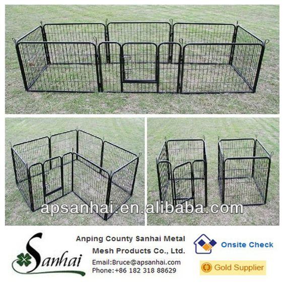 Source Outdoor Retractable Fence For Dogs On