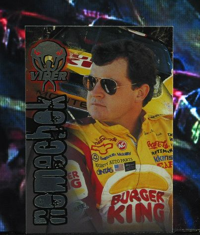 http://nascarniche.blogspot.com/  Joe Nemechek 1996 Wheels Viper Trading Card #22 Base Set Nascar