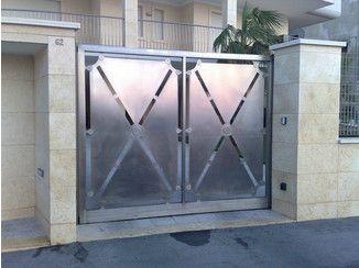 Swing steel gate I2   Swing gate - New Laser