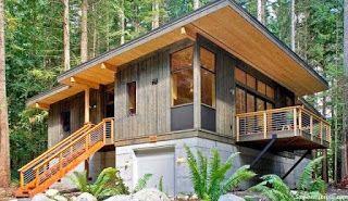 Rumah Kayu Adalah Rumah Yang Seluruh Bagiannua Terbuat Dari Kayu