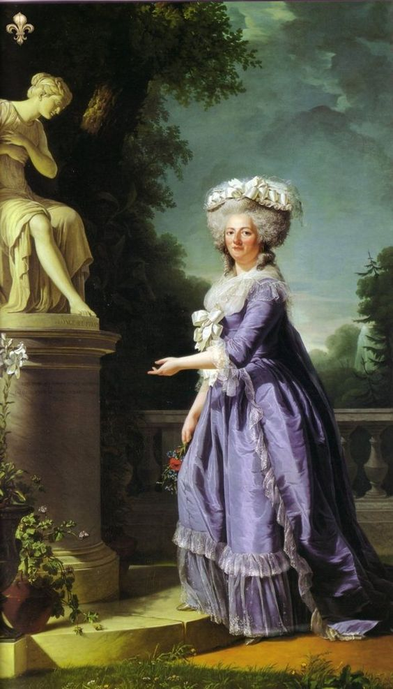 1788 Marie Louise Therese Victoire (Madame Victoire) by Adélaïde Labille-Guiard (Versailles):