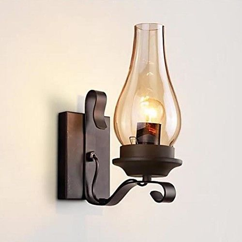 Lodge Vintage Retro Wall Lamps Sconces Metal Wall Light 110 120v 220 240v 60 W E26 E27 2020 Us 61 92 In 2020 Metal Wall Light Vintage Industrial Wall Light Metal Wall Sconce
