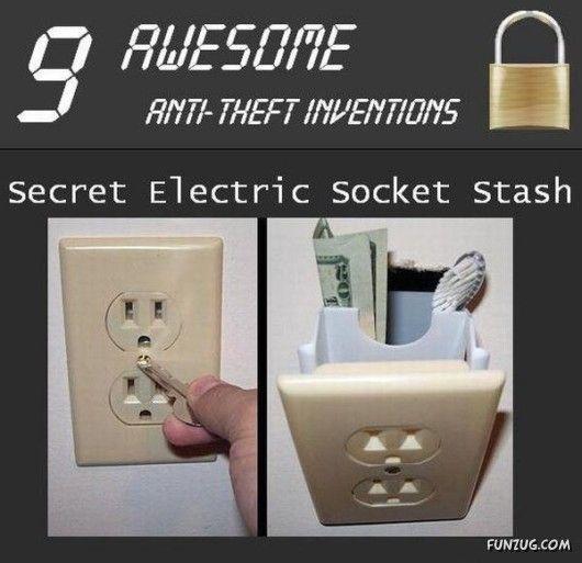 A hidden stash!!!