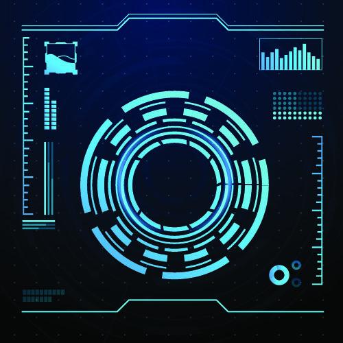 Futuristic Png Infographic Design Template Technology Design Graphic Widget Design