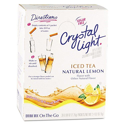 Crystal Light On The Go Iced Tea 16 Oz Packets 30 Pk Find Out More About The Great Product At The Image Lin Crystal Light Drinks Mixed Drinks Iced Tea