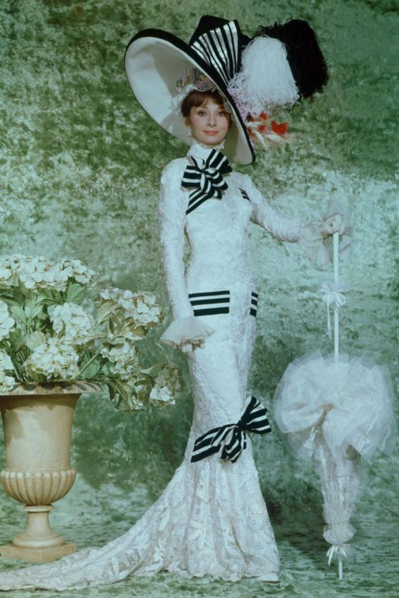 Audrey Hepburn en My Fair Lady (1964) |Foto: Pinterest.
