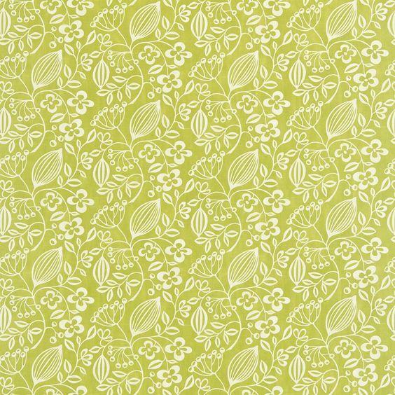 Scion - Melinki One Fabrics COLOUR:Leaf and Neutral