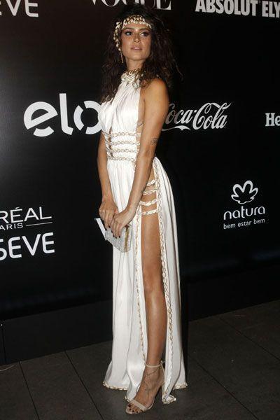 Thaila Ayala em festa em São Paulo:
