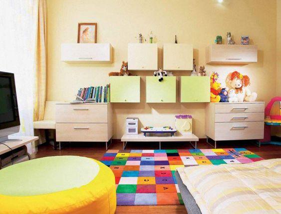 Tappeti colorati per la cameretta dei bambini n.4