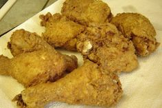 Kentucky Fried Chicken-I try not to eat too often,but one of my fav foods!