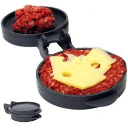 Swift Stuffed Burger Press - Cheese in the middle, cheese on top! £5.15