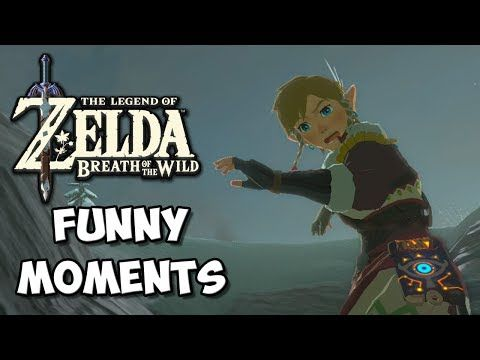 Zelda Breath Of The Wild Funny Moments Extreme Shield Surfing Chocolate Milk Gamer Y Funny Moments Breath Of The Wild Funny Zelda Breath Of The Wild Funny