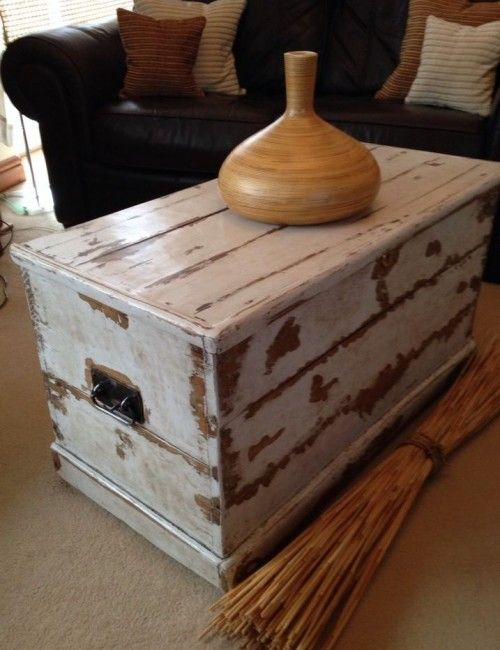 Trunk Large Coffee Table Will Look, Chest Tables Furniture