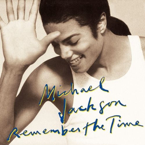 Michael Jackson – Remember the Time (single cover art)