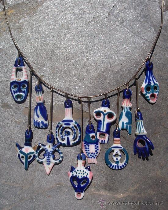 Collar de sargadelos aprox 1970 80 antig edades - Ceramica de sargadelos ...