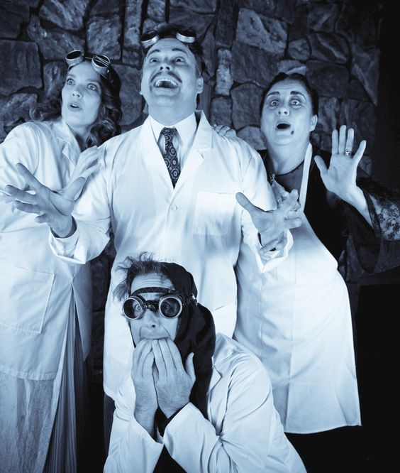 """THEATER REVIEW: """"Spreckels hits big with 'Frankenstein'..Directed with invention and clear affection by Gene Abravaya, 'Young Frankenstein' raises the bar."""" ~ David Templeton, Bohemian"""