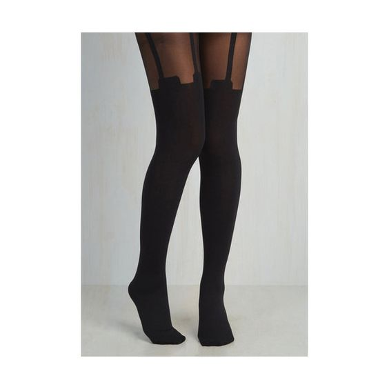 Pretty Polly Boudoir, Pinup, Vintage Inspired, 40s, 50s, Film Noir,... (€23) ❤ liked on Polyvore featuring intimates, hosiery, tights, black, foundation, full-length tight, tight, pretty polly hosiery, pretty polly stockings and pretty polly
