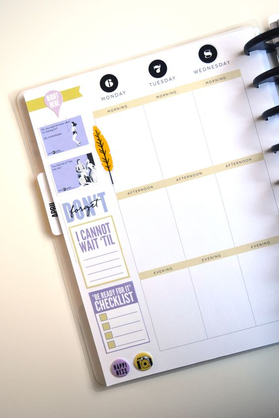 Happy planner, Free printables and Blog on Pinterest
