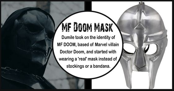 Supervillian Mf Doom Underground Rapper Mask Mf Doom Mask Mf Doom Underground Rappers