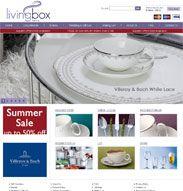 Livingbox offer designer tableware