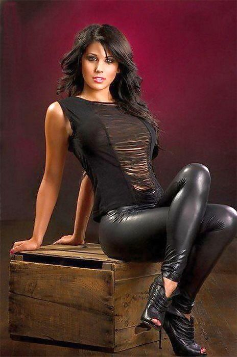 sexy shiny leggings and sexy ladies on pinterest