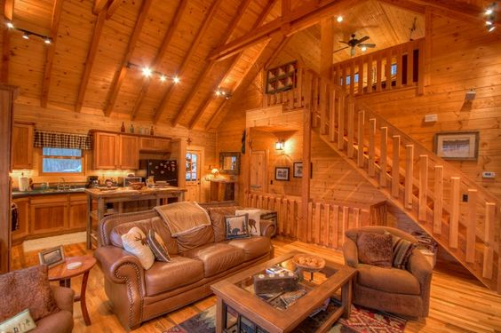 Wood Cabins Honey Bear And Cabin Rentals On Pinterest