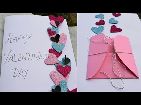 Diy Valentine S Special Greeting Card For Boyfriend Girlfriend