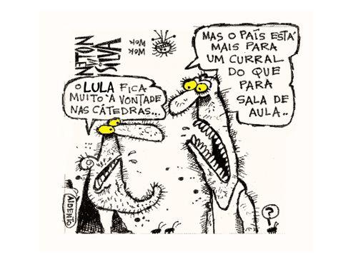 awesome Lula nas cátedras