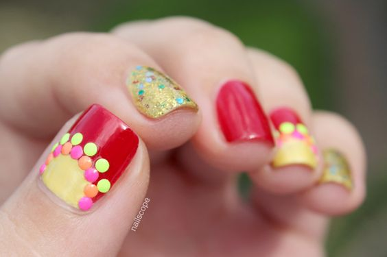 Sinulog festival nails