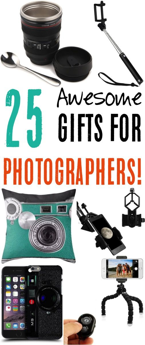 Gift Ideas For Photographers The Perfect Gifts For The Photography Loving Men And Women On Your Christma Photography Gifts Photographer Gifts Girlfriend Gifts