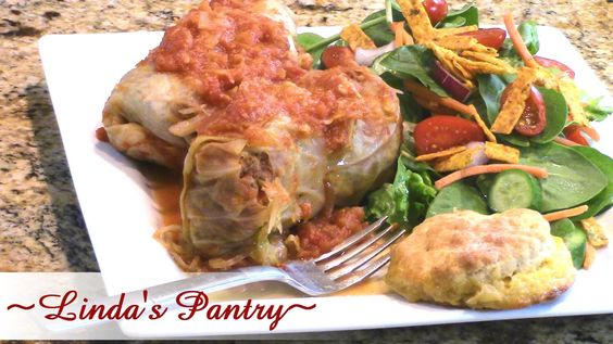 ~Awesome Homemade Cabbage Rolls With Linda's Pantry~