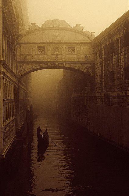 "The ""Bridge of Sighs"" - Venice"