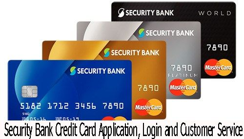 Security Bank Credit Card Application Customer Service And Login